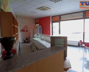 Prenájom priestoru 135,45 m2, vhodný pre gastronomické služby, centrum Trnavy. CENA: 1 800,00 EUR/mesiac