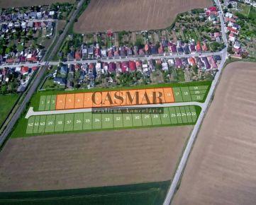 CASMAR RK - Stavebný pozemok so všetkými IS v novej lokalite 548 m2