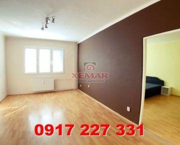 Iba u nás! Na predaj slnečný a priestranný 2 izb. byt na Švermovej ul. v BB