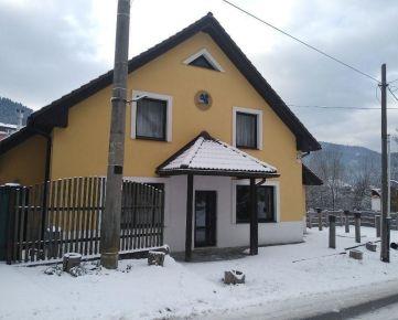Menší penzión v meste Krompachy.