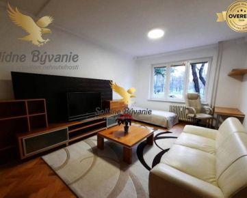 Útulný priestranný 1-izbový byt na prenájom v Ružinove