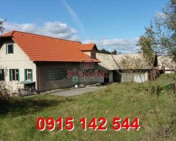 Na predaj rodinný dom v obci Kriváň- Exkluzívne !!!