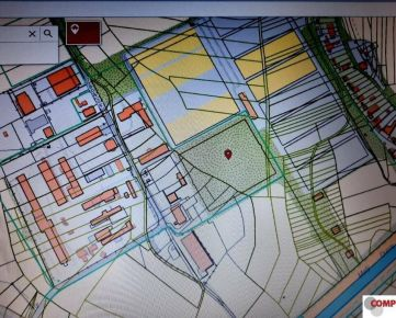 Komerčný pozemok v Ružinove 10.512 m2, možnosť rozdelenia