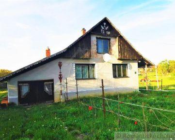 Rodinný dom chalupárskeho rázu na okraji obce - Lesenice