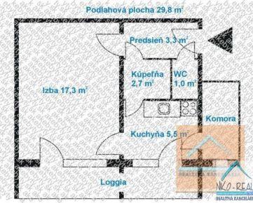 1 izb. byt, BANŠELOVA ul., po NOVEJ rekonštrukcii