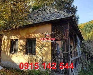 Na predaj starší gazdovský dom s 3,4 ha pozemkom na polosamote v obci Píla