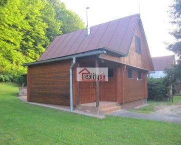 Predám chatu so saunou v krásnom prostredí