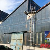 Skladový objekt 9400m2, čiastočná rekonštrukcia