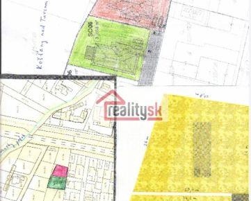 Predám pekný, slnečný, rovinatý stavebný pozemok v Košťanoch nad Turcom