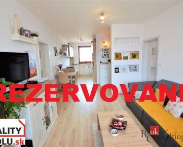 REZERVOVANÉ - Predám 3-izbový byt s balkónom na Starom Juhu v Poprade