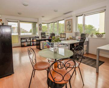 Predaj 3-izbového apartmánu s lodžiou v polyfunkčnom dome Platan