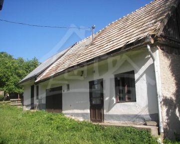 NOVA CENA! Gazdovský dom vhodný na chalupu v Polichne