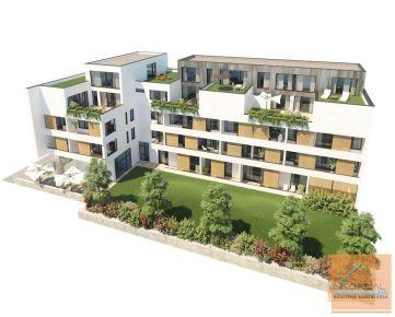 4 izb. MEZONETOVY byt s 2x terasou v novostavbe, TESLOVA ul.