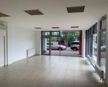 PRENÁJOM – samostatné kancelárie, obchod, služby, 57 m2, prízemie, vchod z ulice, vyhradené parkovanie. BA IV. Karlova Ves, novostavba