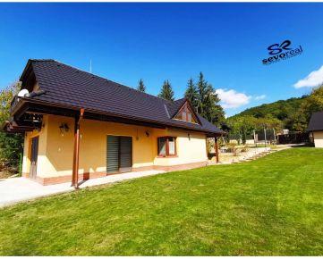 NÁDHERNÁ LOKALITA NA ODDYCH A REKREÁCIU - NOVOSTAVBA Rodinný dom SVÄTÝ ANTON, Banská Štiavnica, pozemok 1270 m2