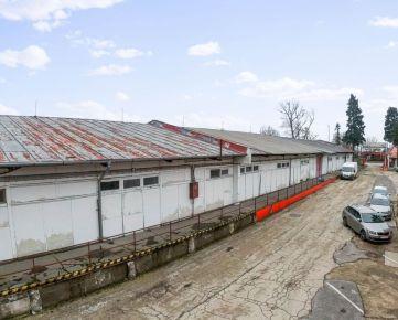 CASMAR RK ponúka na predaj halový sklad č.2– priemyselná zóna