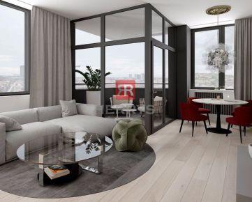HERRYS - Na predaj nový 2 izbový apartmán s výhľadom v Starom Meste, projekt PROXENTA Residence na Račianskom Mýte