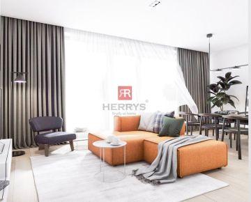 HERRYS - Na predaj 3 izbový byt s lodžiou v projekte Byty Bystrická 2