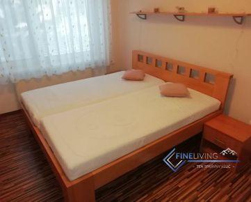 Menší 3 - izb. byt s klimatizáciou v užšom centre Nitry