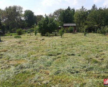 Direct Real - Na predaj záhrada na Kyneku s dvomi studňami a dvoma menšími chatkami.