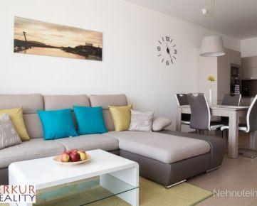Prenajom 2-izb. byt v Panorama City s výhľadom na hrad