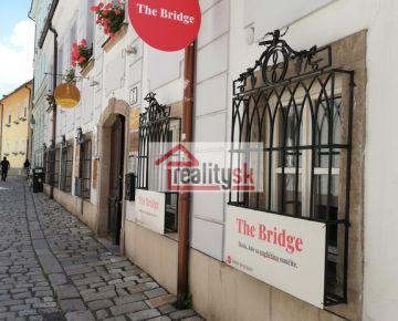 Prenájom nebytového priestoru v centre Bratislavy