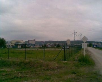 Pozemok na priemyselnú výstavbu