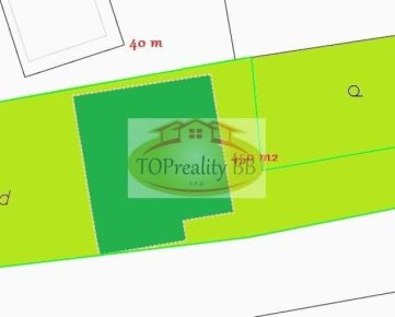 Rodinný dom 4 izbový s pozemkom 650 m2, 14 km od B. Bystrice - 184 000€