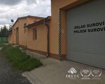 Prenájom, predaj výrobných - skladových priestorov Poprad - Kvetnica - Dubina