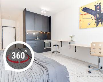 AXIS REAL:: Výnimočná NOVOSTAVBA: 1-izbový byt, BA V. , Zuzany Chalupovej