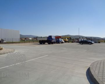 Parkovacia plocha pre kamiónovú dopravu, Trenčianske Stankovce