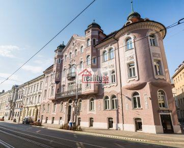 3-izbový byt v centre BA na Štúrovej ulici na prenájom