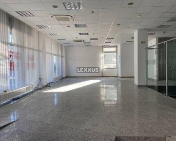 LEXXUS-PRENÁJOM, obchodné priestory s výkladmi od 100m2, BA III