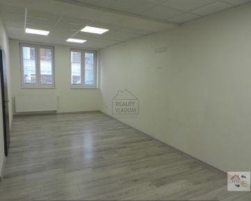 Na prenájom kancelárske priestory  (plocha 62 m2), Prešov.