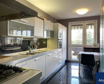 PREDAJ - veľkorysý zariadený 3i byt, 75,61 m2, Priekopnícka