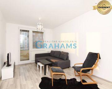 GRAHAMS - PRENÁJOM 3 izbový byt na ulici Jégého, mestská časť Nivy