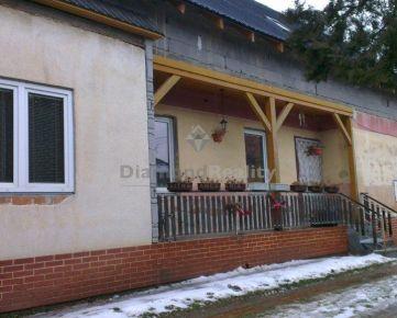 Na predaj rodinný dom v obci Poproč, okres Košice - okolie