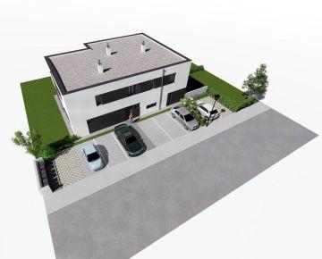 Milebyvanie.sk III. Etapa - 4 izb. mezonet so záhradou -  štandard, 2 x parkovanie v cene - dom X