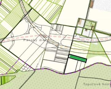 Orná pôda Podunajské Biskupice pri R7 – výmera 1,6 ha