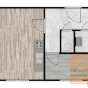 2-izb. byt 37m2, kompletná rekonštrukcia