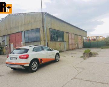 Na predaj priemyselný areál Bratislava-Ružinov Prístavná - TOP ponuka