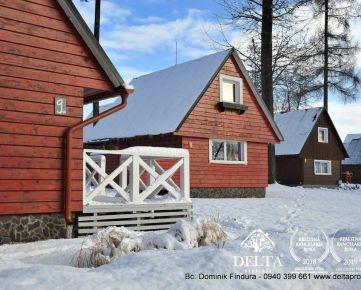 DELTA - Krásna chata s terasou na predaj Veľký Slavkov
