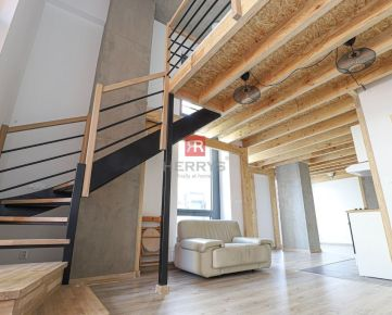 HERRYS - Na prenájom priestranný atypický loft v novostavbe City Park Ružinov
