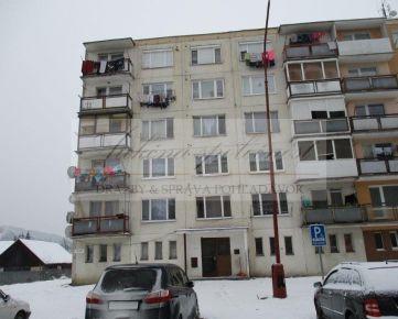 Opakovaná dražba bytu v Závadke nad Hronom, okres Brezno