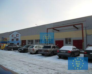 Prenájom skladových priestorov v KE - Južná tr., výmera 300m2