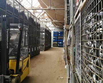 Predaj: Skladová hala v Žiline 880 m2,