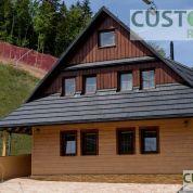 Chalupa, rekreačný domček 300m2, novostavba