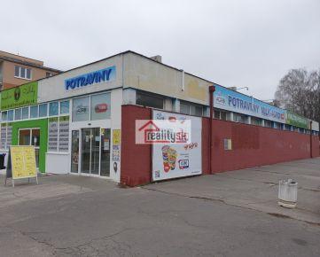 Predám obchodné priestory o výmere 509 m2 v Trenčíne