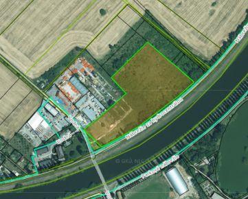 Prenájom - pozemok 18 190 m2, Vodná ulica, Nitra