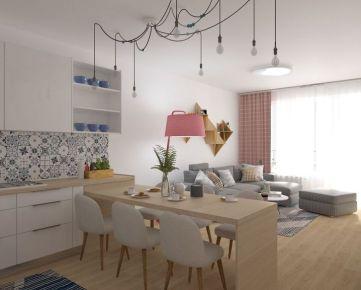3i byt v novostavbe Zelené Vlčince (C.208)